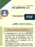 Estadistica Conceptos Básicos de Estadistica