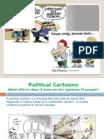 political cartoons and pop culture