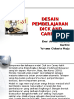 3 Desain Pembelajaran Ala Dick and Carrey