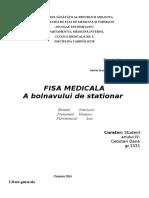 Cebotari Dana FISA Cardiologie