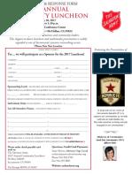 2017 Annual Community Luncheon Sponsorship Form