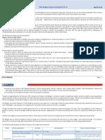HDFC Sec Post Budget Impact Analysis 2015-16