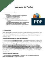Optimización Avanzada de Firefox