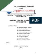Sistema Digital de Acceso Inteligente