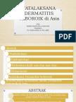 Tatalaksana Dermatitis Seboroik Di Asia