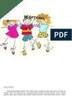 OPTIONAL in Pasi de Dans