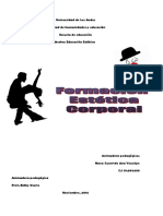 Formacion Estetica Corporal Individual