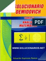 Solucionario Demidovich Tomo III.pdf