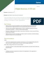 Gartner 50 Examples of Digital Business 278154