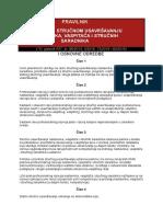 Pravilnik o Stalnom Strucnom Usavrsavanju (Sl. Glasnik Rs, Br. 86-2015, 3-2016, 73-2016 i 80-2016)