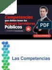 Competencias de los nuevos servidores públicos