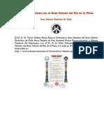 Firma de Tratado con el Gran Oriente del Río de la Plata