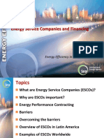 8A Energy Service Companies and Financing