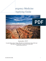 Emergency Medicine Applying Guide