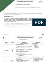Carta Descriptiva Capacitacion Pnce
