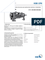 Ksb Serie Cpk - A2721_0s_1 - Manual Técnico