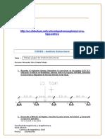 Trabajo 2 de Análisis Estructural