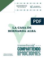La Casa de Bernarda Alba 3 4 Eso Cast