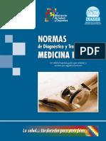 Normas de Diagnostico y Tratamiento en Medicina Interna