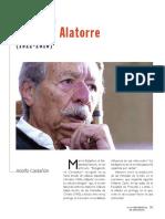 Espigando en Antonio Alatorre