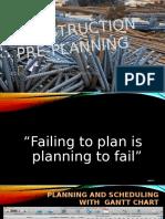 Group 2 - Pre Planning Presentation