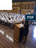 Reflections on high school - my speech to the students of Mackillop College.