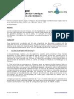 Quelques aspects physico-chimiques des coordonnées bio-électroniques (József ORSZÁGH)