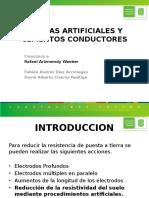 Tierras Artificiales y Cementos Conductores