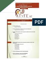 Cartel ATyFE 2015