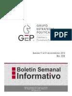 Boletin Semanal 220