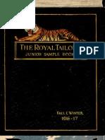 (1916) The Royal Tailors Junior Sample Book