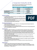 Comprehensive Transportation Funding Plan (Act 89)