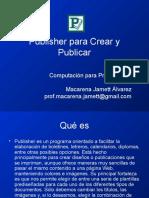 Publisher Para Crear y Publicar