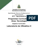 Laboratorio de Ofimatica II