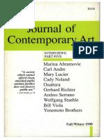 Gerhard Richter Journal Contemporary Art V3.2 1990 Philip Pocock