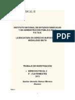 Derecho Fiscal II.