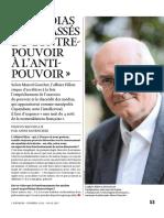 Marcel Gauchet Les Médias Sont Passés Du Contre-pouvoirs à l'Anti-pouvoir - L'Express 2017 02 08
