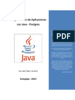 Programación de Aplicaciones Con Java - Postgres
