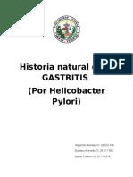 Historia Natural de Gastritis