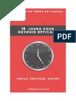 Gestion Du Temps de Travail - 10 Jours Pour Devenir Efficace