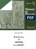 Alvarez Gomez Jesus - Manual de Historia de la Iglesia - Claretianas - 1987.pdf
