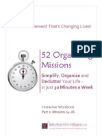 52 Organizing Missions Workbook 2 - 30 Page Sample
