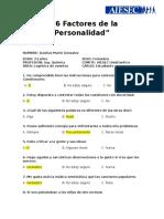 Preguntas 16PF