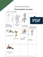 Plan de Entrenamiento de 8 Semanas Para Artes Marciales