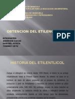 Obtencion Del Etilenglicol