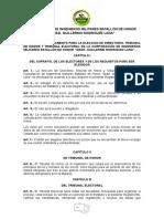 Reglamento Elecciones 2016 -2018