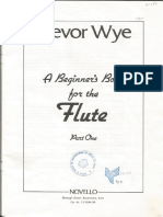 A Beginner's Book for the Flute (Part 1), Trevor Wye