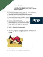 Criterios Del DSM IV Para Dx TDAH