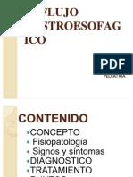 ENFERMEDAD REFLUJO GASTROESOFAGICO