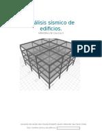 Análisis Sísmico de Edificios